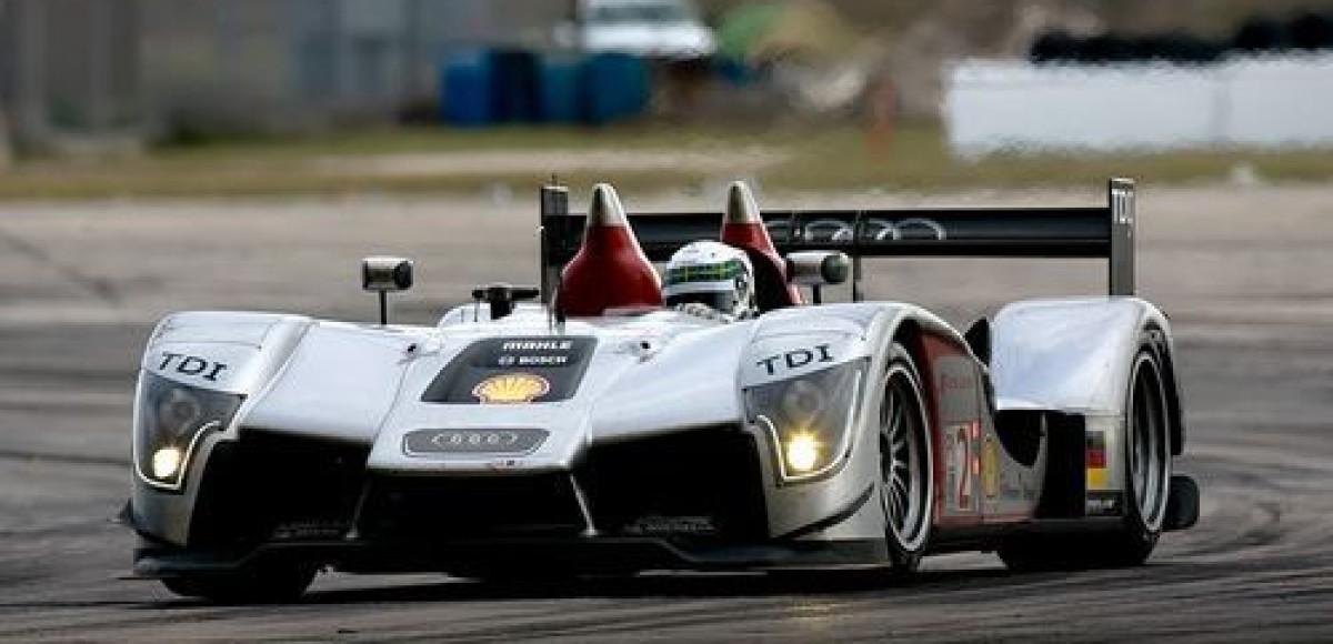 Audi R15 TDI выиграл гонку на выносливость в Себринге