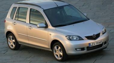 Mazda Demio. Лево руля!