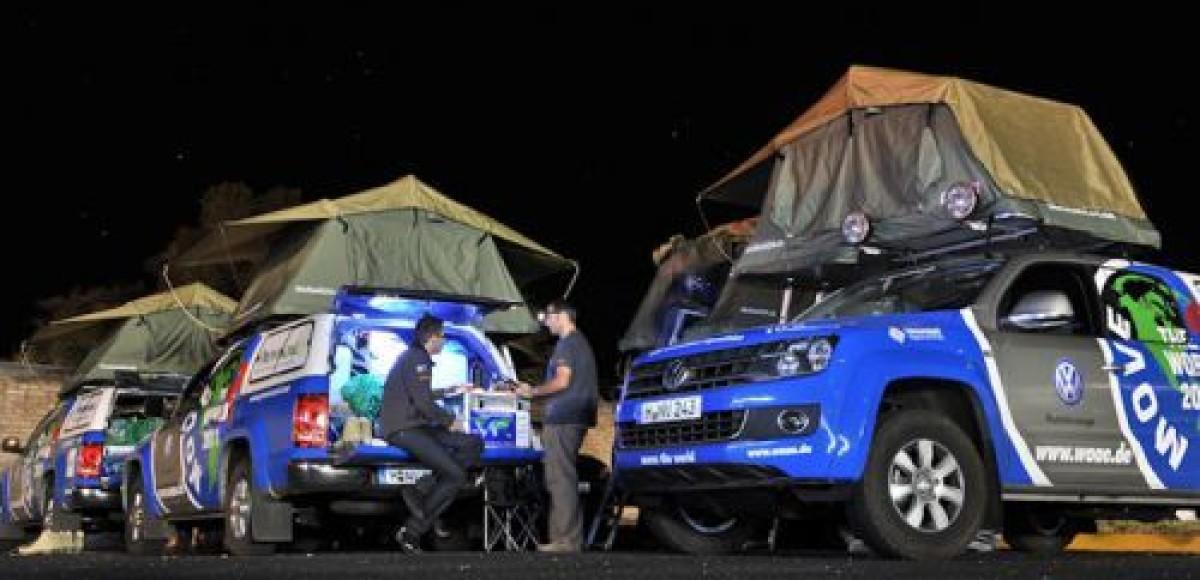 Volkswagen Amarok отправляется в путешествие вокруг света
