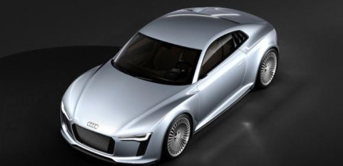 Detroit showcar Audi e-tron. Чистокровный электрический… спорткар