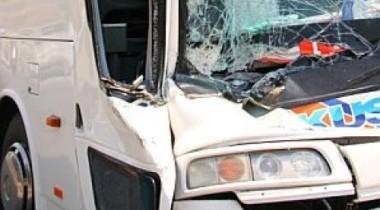 На Киевском шоссе сгорел автобус