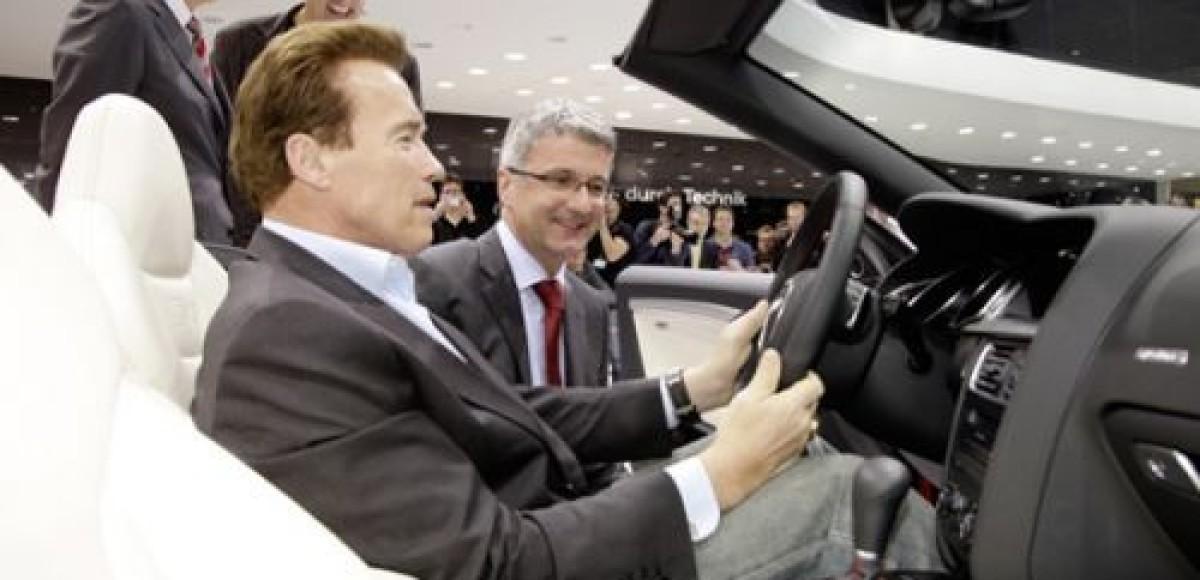Арнольд Шварценеггер присматривается к Audi