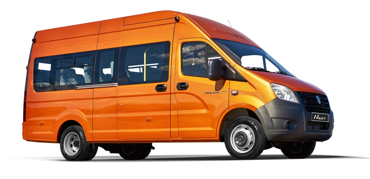 Старт продаж микроавтобусов «ГАЗель NEXT»