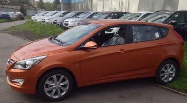 Премьера обновленного Hyundai Solaris состоится в Санкт-Петербурге