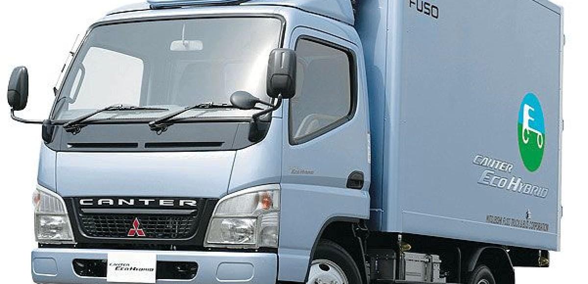 Тест на чистоту. Mitsubishi Canter Eco Hybrid