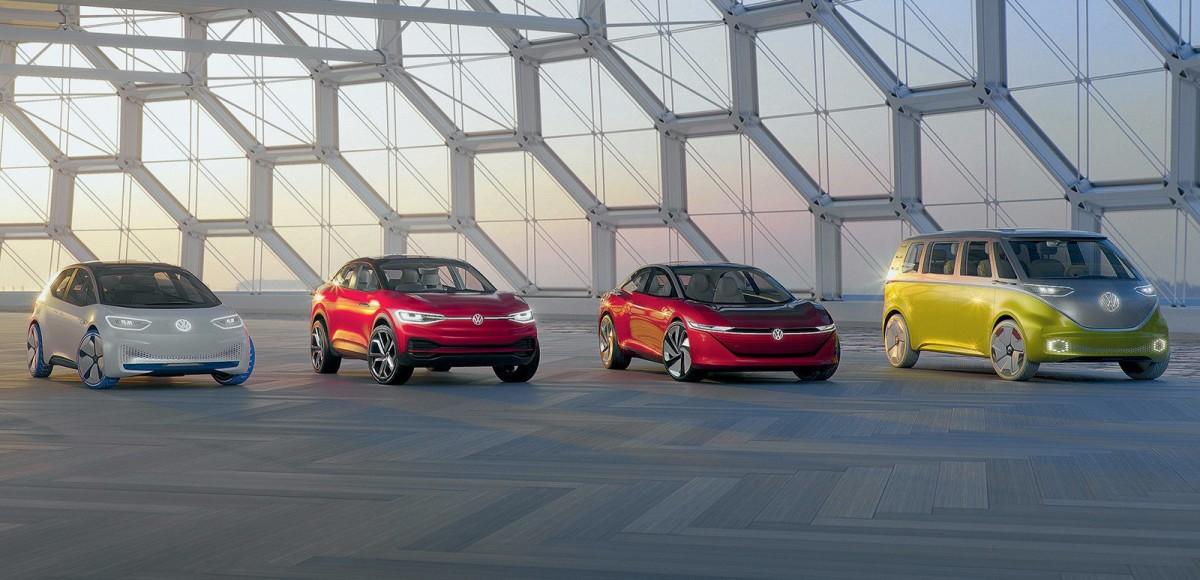 Платформа Volkswagen MEB. Электричество для всех