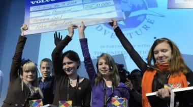 Участвуя в конкурсе Volvo Adventures, российские школьники спасают городской парк
