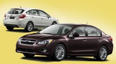 Subaru Impreza. Ротация кадров