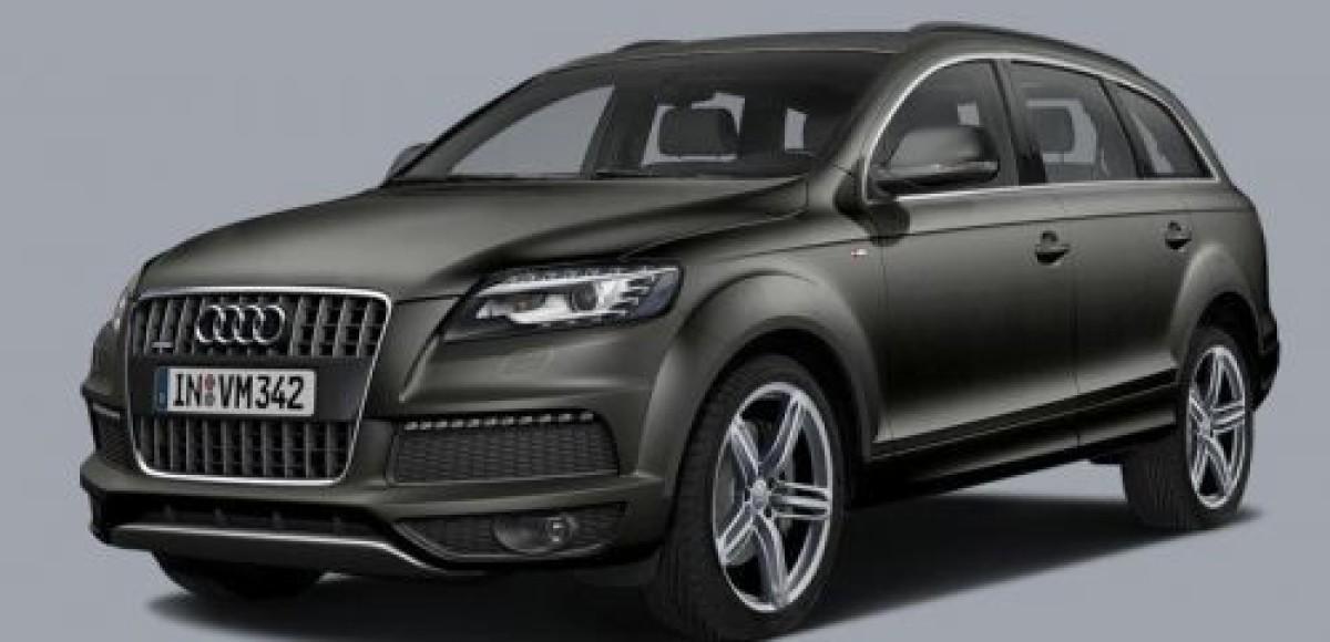 Audi Q7 с уникальным пакетом Black Line. Предложение ограничено!