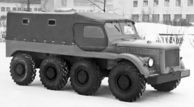 ГАЗ-62Б: супервездеход из Горького