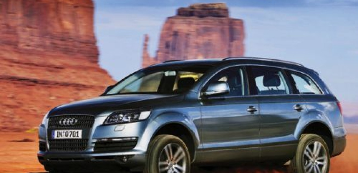 В декабре стартуют российские продажи Audi Q7 V12 TDI