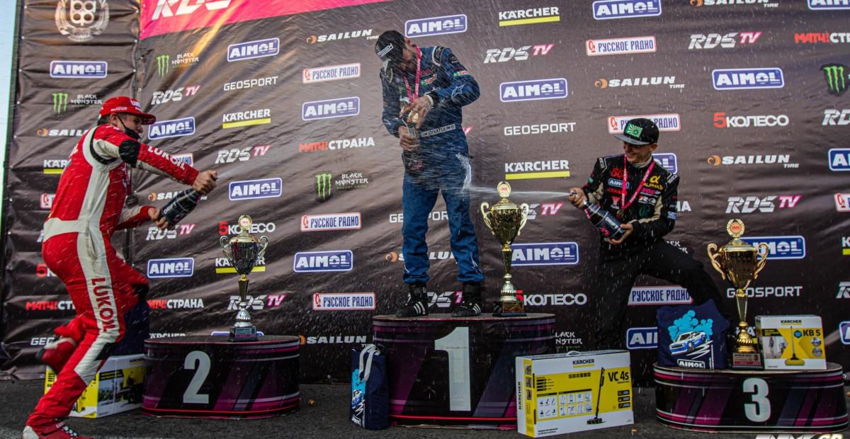 Дамир Идиятулин покоряет 5-й этап RDS GP 2020