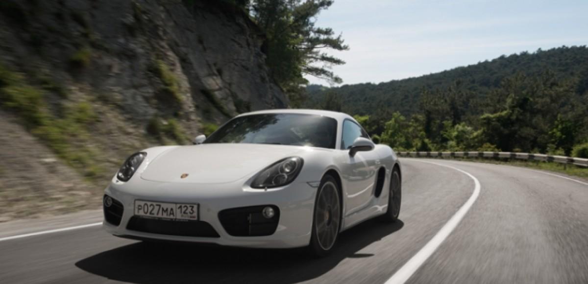 Porsche Cayman S. На пути к легенде