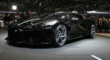 Bugatti La Voiture Noire: один черный автомобиль