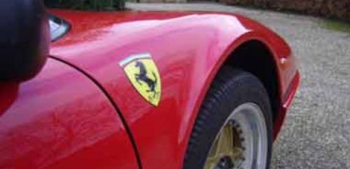 В Москве в ДТП сгорел раритетный Ferrari