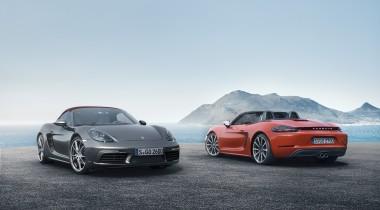 Porsche 718 Boxster: в России от 3 451 000 рублей