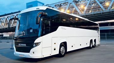 Scania Touring HD 6Х2. Он настоящий