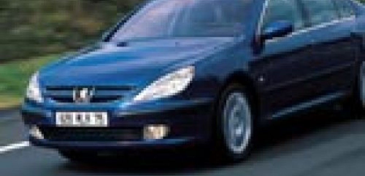 Peugeot 607 HDi. Лев готовится к прыжку