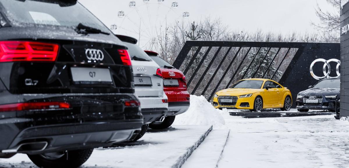 Audi quattro days: испытание полного привода
