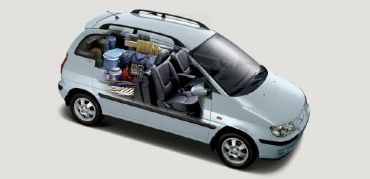 Hyundai Matrix 1.6 GLS. Мини для миди
