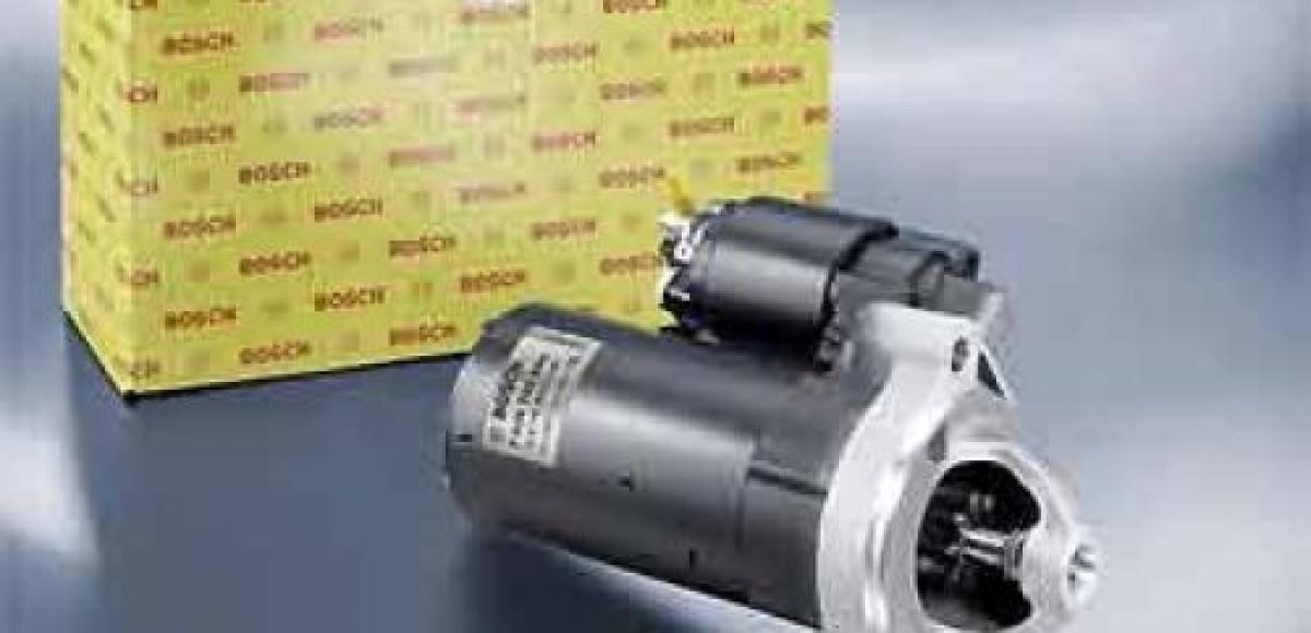 Компания Bosch выпустила 500-тысячный стартер для систем «старт-стоп»