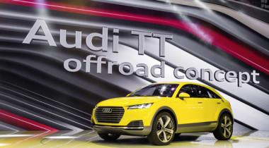 Audi TT offroad concept дебютировал в Китае