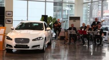 Открытие нового дилерского центра Jaguar в Челябинске
