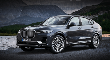 BMW X7 превратят в купе