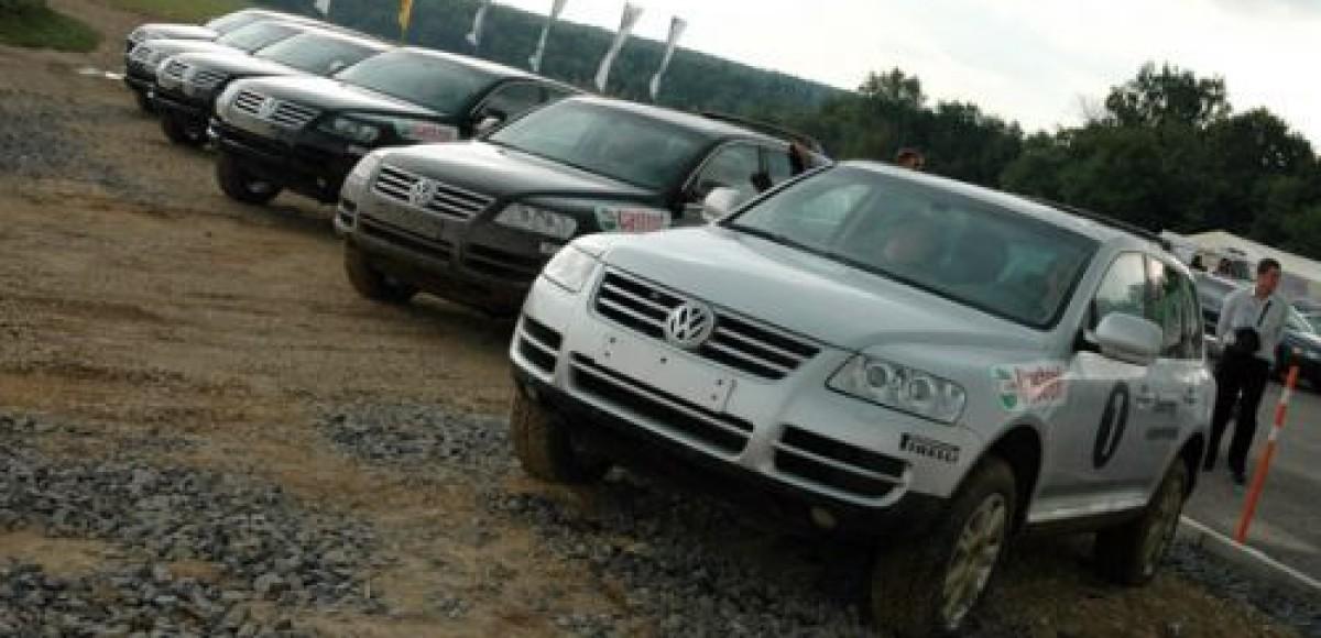 «Германика» продает VW Touareg со скидкой до 290 тысяч рублей