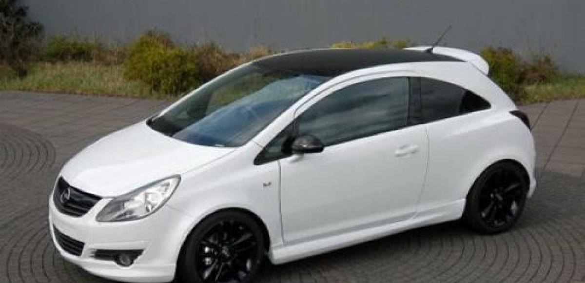 Opel Corsa Black&White: специально для России