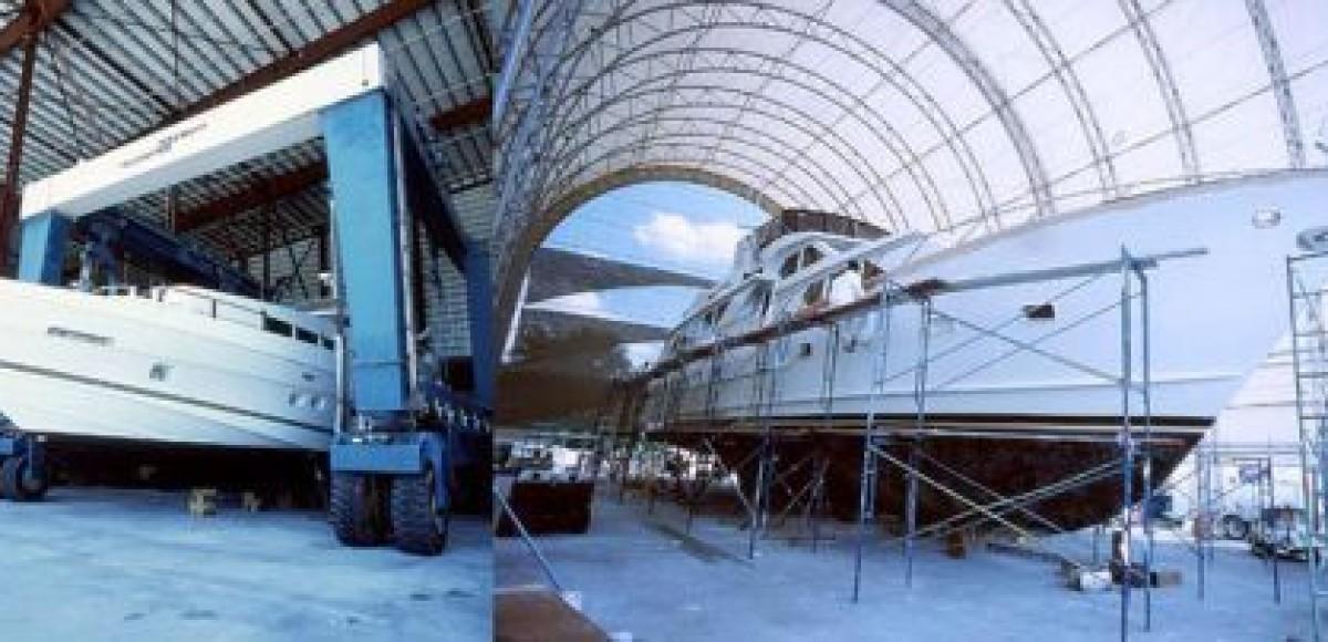 «Независимость», Москва. Новая линия по ремонту яхт и катеров