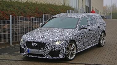 На Нюрбургринге заметили новый универсал Jaguar XF Sportbrake