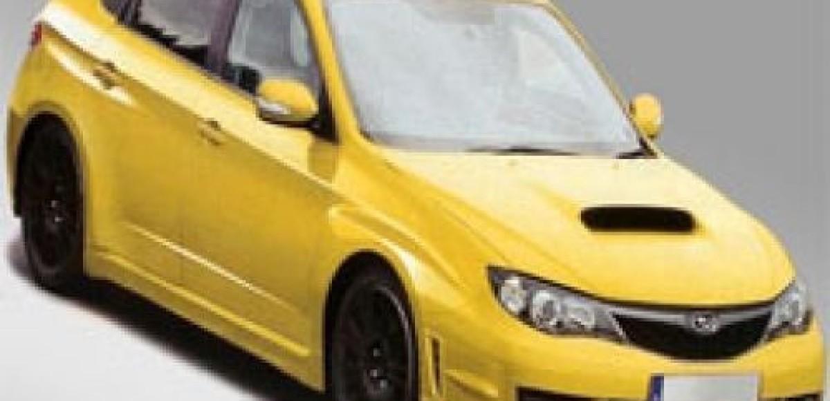 На тестах засекли новую Subaru Impreza WRX STI