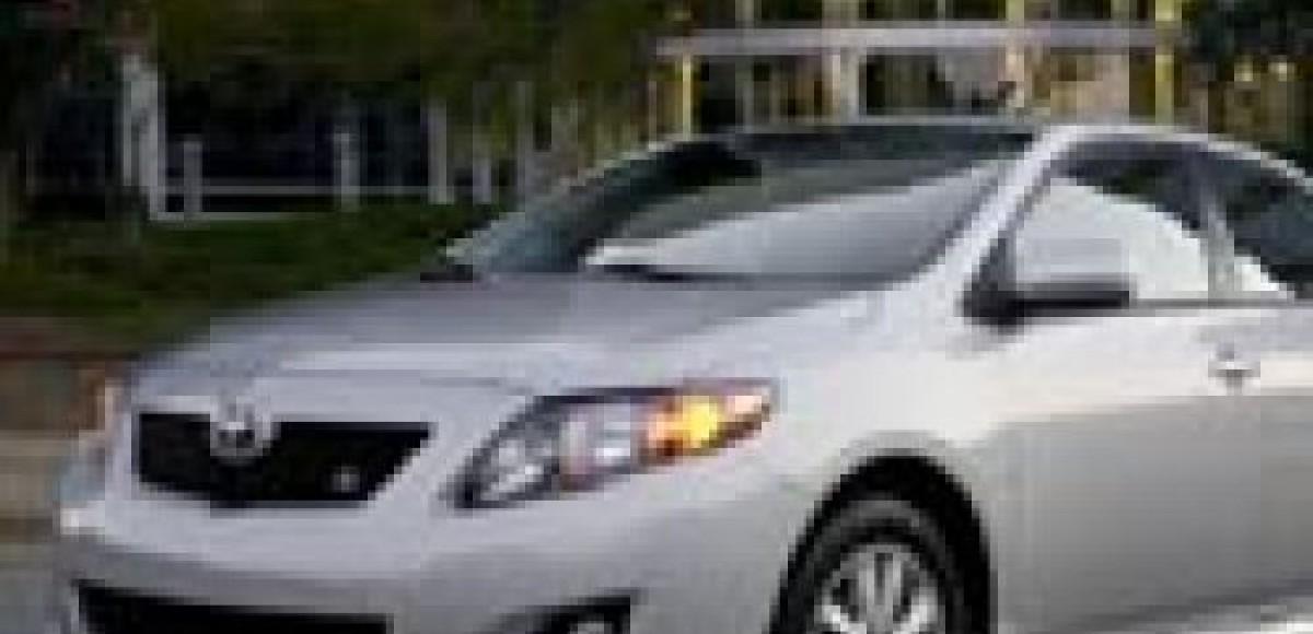 2009 Toyota Corolla. Американский дебют