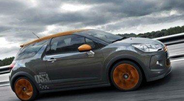 Женевский автосалон 2010. Citroen DS3 Racing Limited Edition