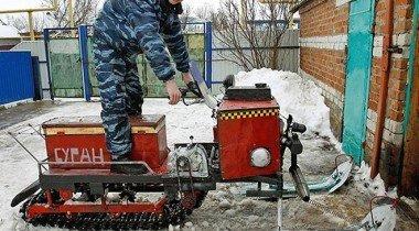 Самодельные снегоходы: сделано в России