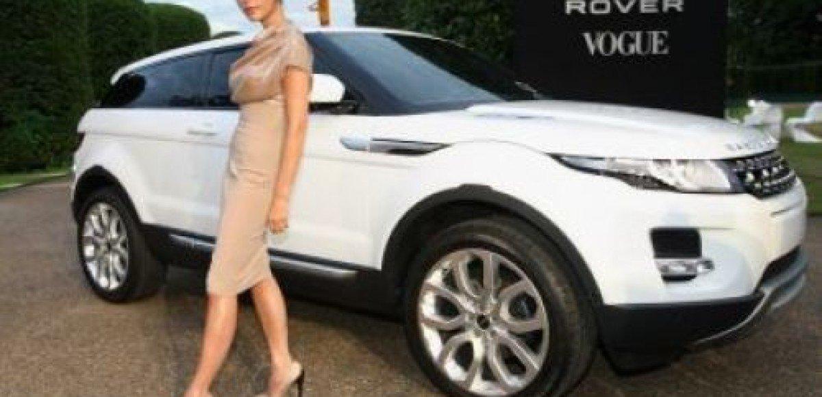 Виктория Бэкхем станет креативным дизайнером Range Rover