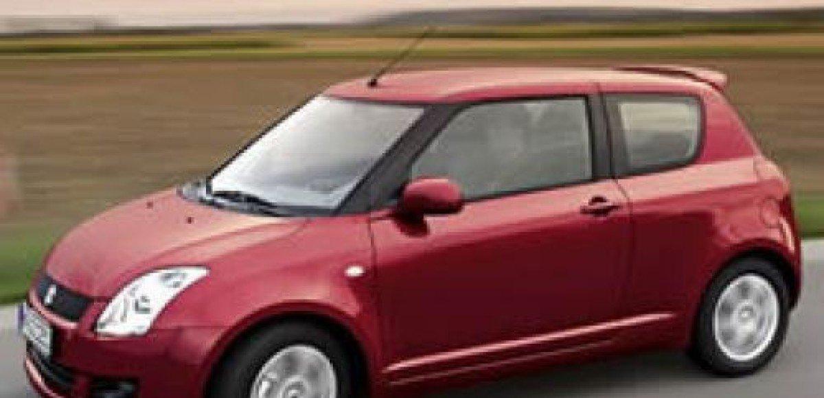 В Европу приедет перламутрово-красный Suzuki Swift GS