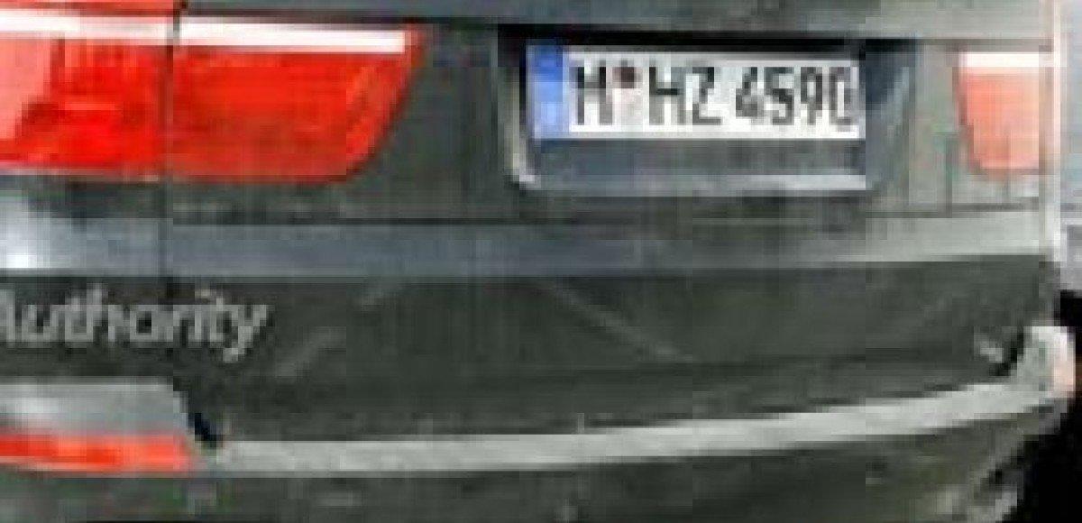 BMW X5 M. Шпионские фото