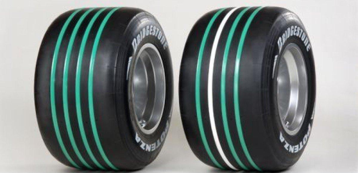 Bridgestone на японский Гран-При изменила цветовую маркировку шин
