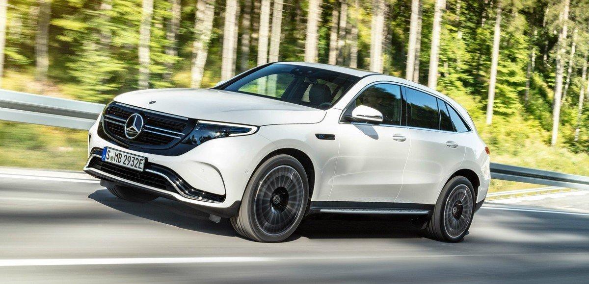 Mercedes-Benz EQC: Электрический интеллект