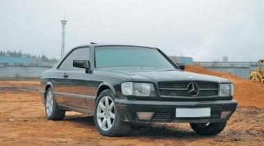 Mercedes-Benz 560 SEC W126. Кодекс Бусидо