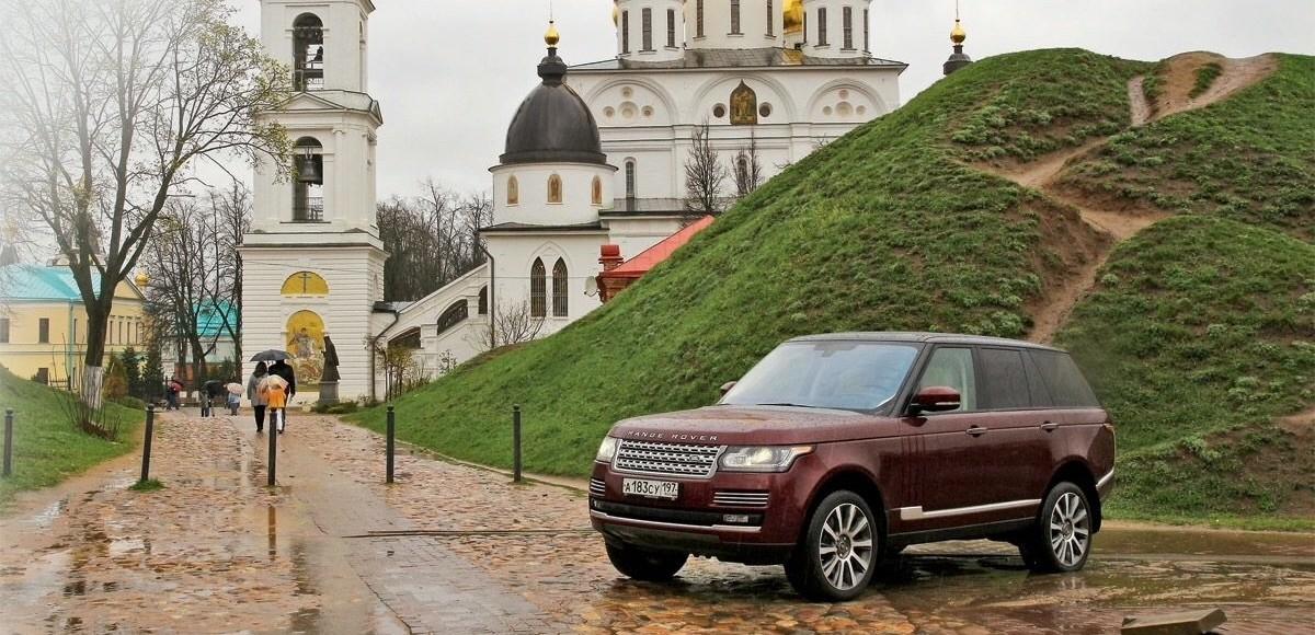Красота — рядом: изучаем Подмосковье за рулем Range Rover