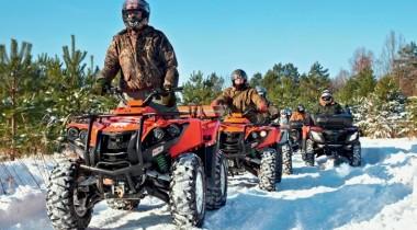 ATV Stels 700 GT и 800D. Стелс-охота