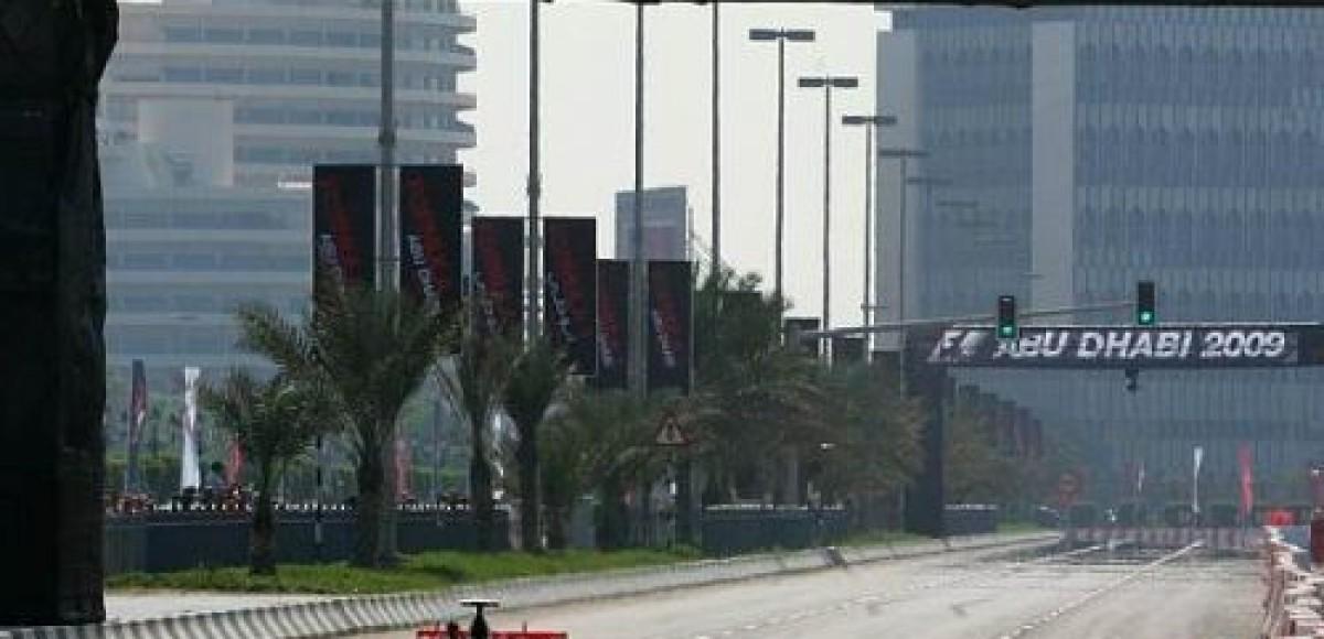 Строительство трассы в  Абу-Даби идёт полным ходом