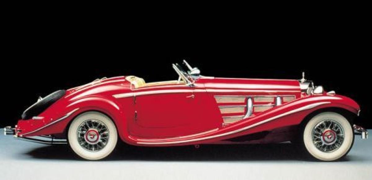 В Москве открылась галерея старинных автомобилей