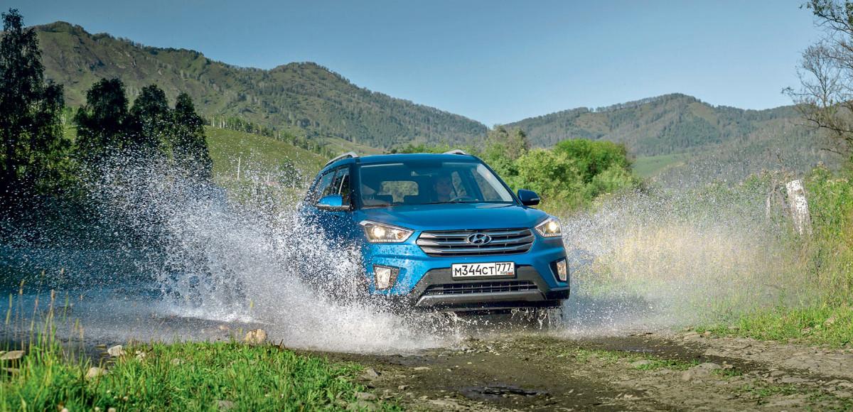 Hyundai Creta. Для дорог и направлений