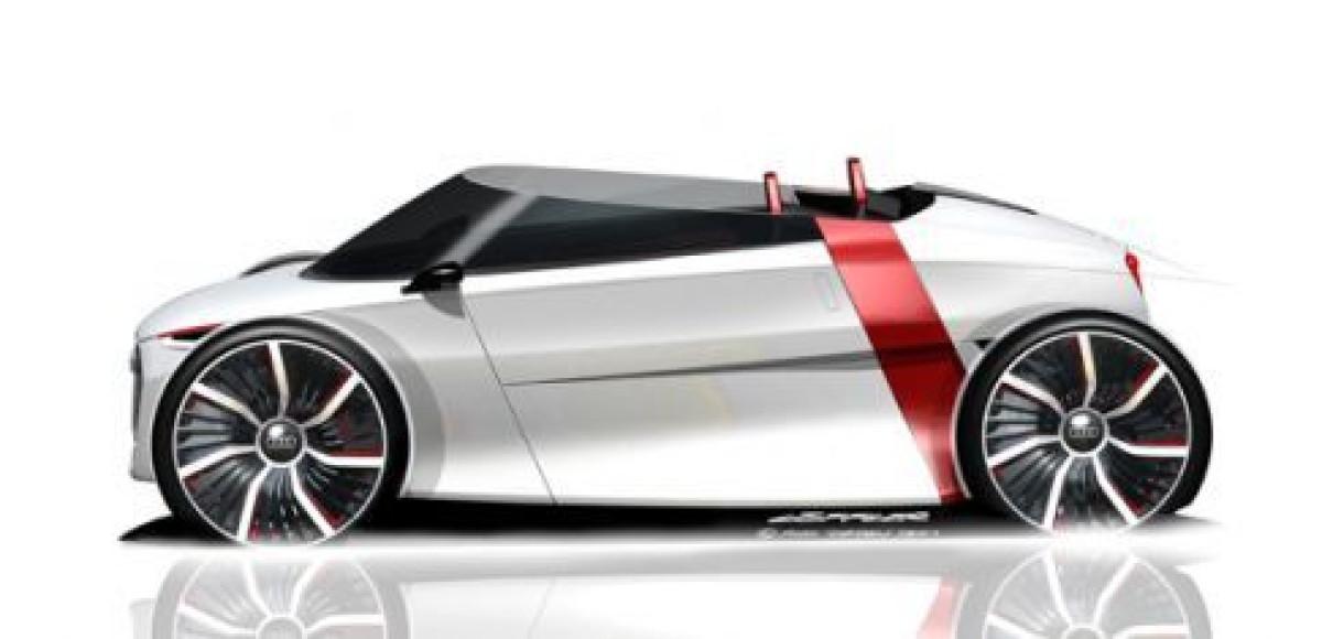 Audi urban concept: новая модификация Spyder