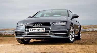 Audi A7. Оттенки серого