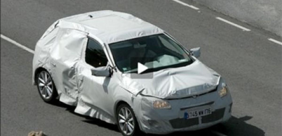 Renault Megane III. Шпионские фото